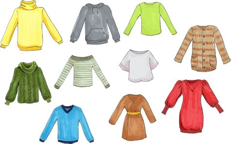 clipart clothing tops