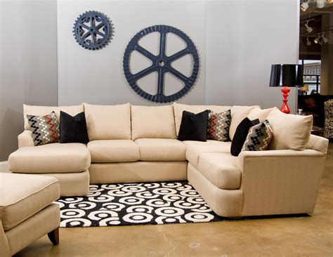klaussner findley sectional klaussner findley sectional sofa with left side chaise