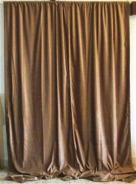 taupe velvet curtains used theater drapes used theater drapes bamboo shades