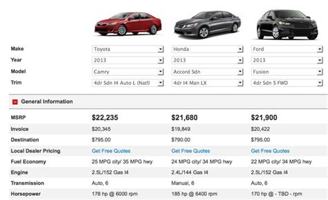 Compare Popular Cars Side by Side » AutoGuide.com News