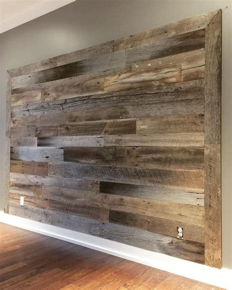 the inspiration chronicles barnwood accent walls could be easy for the bedroom my dream house