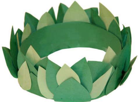 laurel leaf crown template olympic or crown