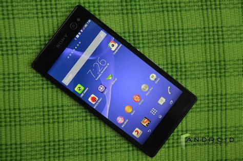 Hp Sony Android C3 sony xperia c3 smartphone review android advices