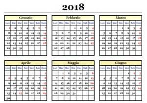 Calendario 2018 Con Settimane Calendario 2018 Da Stare Scarica Gratis In Pdf