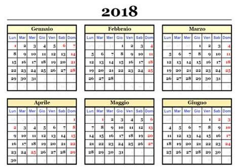 Calendario 2019 Con Festività Italiane Calendario 2018 Da Stare Scarica Gratis In Pdf