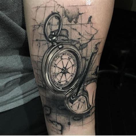 compass tattoo instagram compass tattoo blackandgreytattoo on instagram