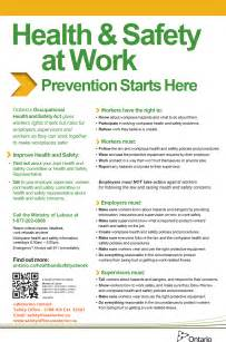 Work Health And Safety Policy Templates by Posting Requirements Safety Office Of Waterloo