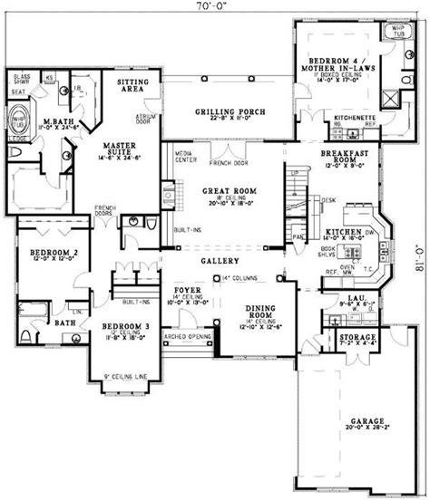 House Plans With Guest Suite by Home Floor Plans With Inlaw Suite Lovely Best 20 In