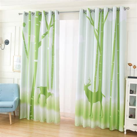Lime Green Curtains Lime Green Eyelet Taffeta Faux Silk Curtain Pair 55 Wide Tahiti Embroidered Voile Fully Lined
