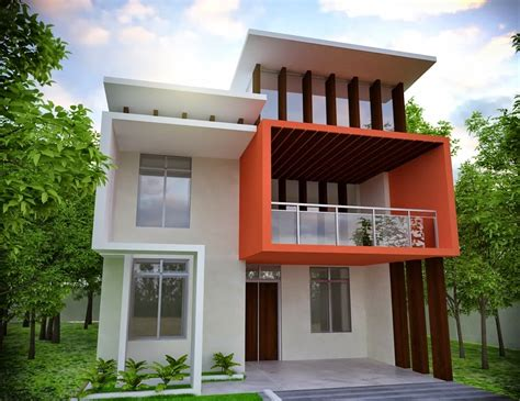 Front House Plans by Modern House Front Elevation