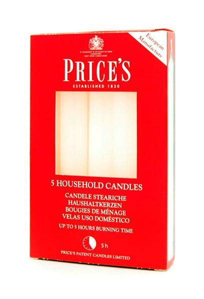 candele steariche reginato fratelli store candele steariche bianche x 5 056028