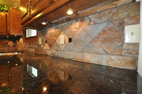 Design Backsplash Ideas For Granite Countertops Granite Countertops And Tile Backsplash Ideas Eclectic Indianapolis By Supreme Surface Inc