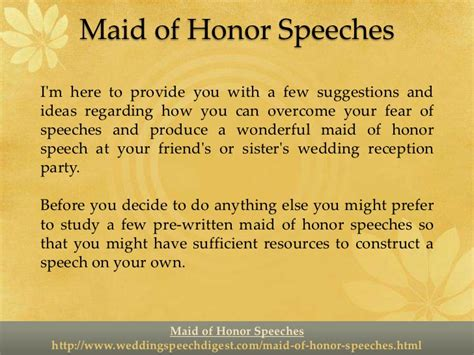 88 wedding speeches for a sister maid of honor