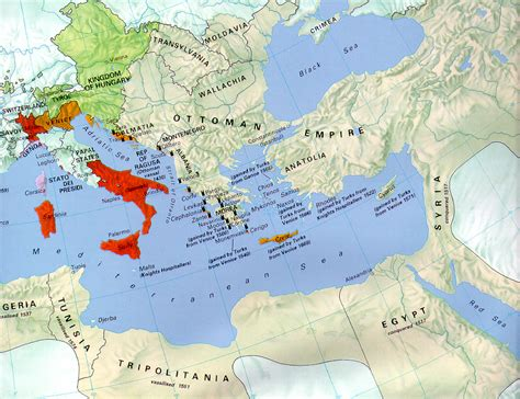 Ottoman Empire Map 1500 The Ottoman Empire 1500 1571 Size
