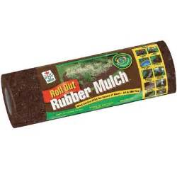 rubber mulch home depot easy gardener 12 sq ft roll out brown rubber mulch
