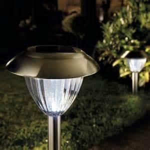 solar light solar ultra bright stainless steel border lights 2