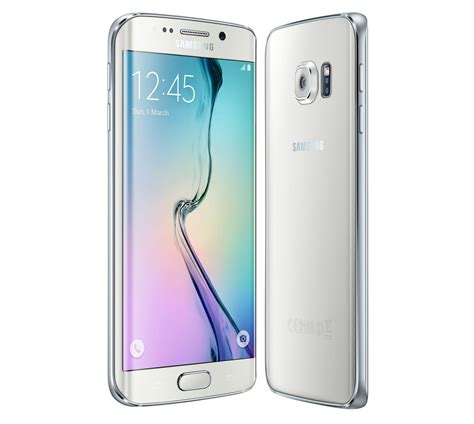 Samsung S6 Edge White samsung galaxy s6 edge 64gb sm 925f white kurier