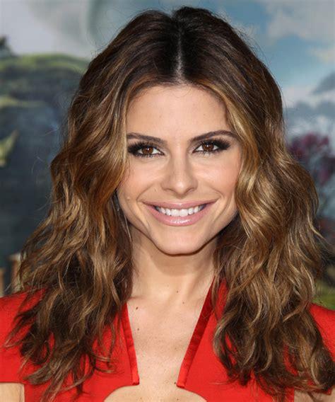 Maria Menounos Long Wavy Casual Hairstyle