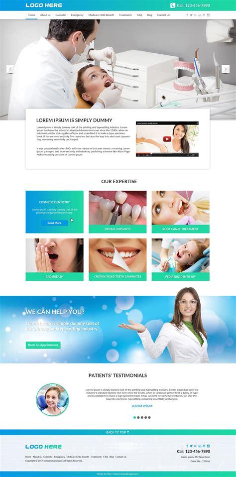 Dentist Website Template Dentist Website Template