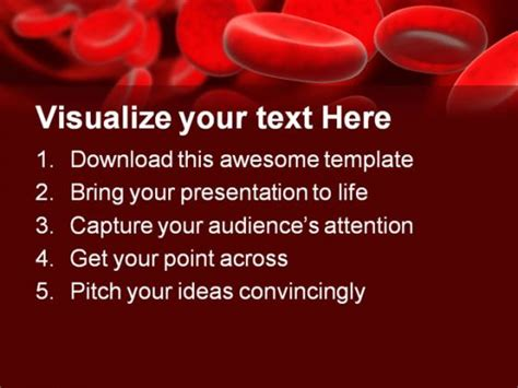 blood cells medical powerpoint template 0610 blood cells medical powerpoint template 0610