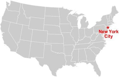 map usa new york city the world s catalog of ideas