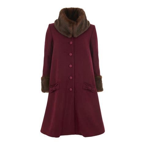 swing coat definition collectif vintage hermione plain swing coat collectif