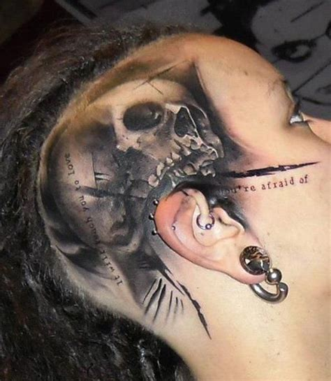 crazy skull tattoos 85 best images about skull tattoos on sword