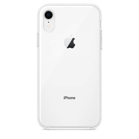 iphone xr case clear apple