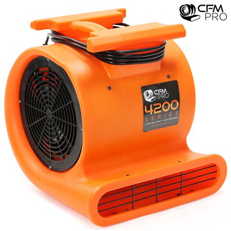 industrial air blower fan cfm pro air mover carpet dryer blower floor drying