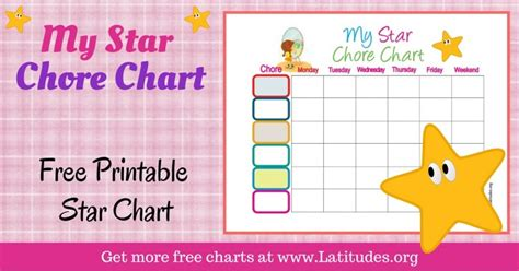printable blank star chart free printable behavior charts for home and school acn