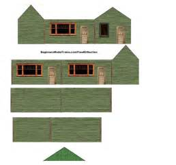 scala play template 6 best images of free printable ho scale houses free
