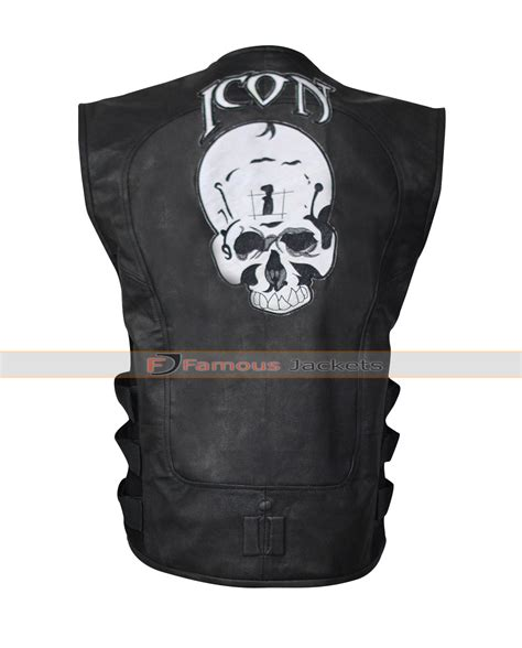 motorbike vest icon regulator skull leather motorcycle vest 163 127 add to