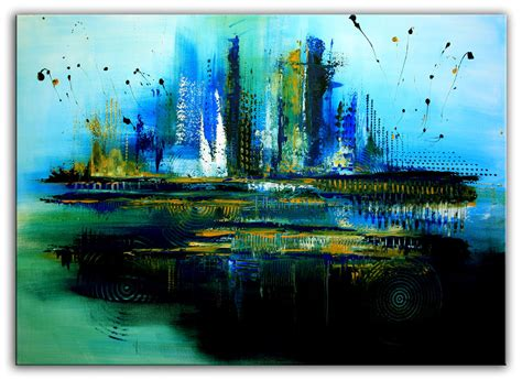 malerei modern bild modern gr 252 n gem 228 lde acrylmalerei alex b bei