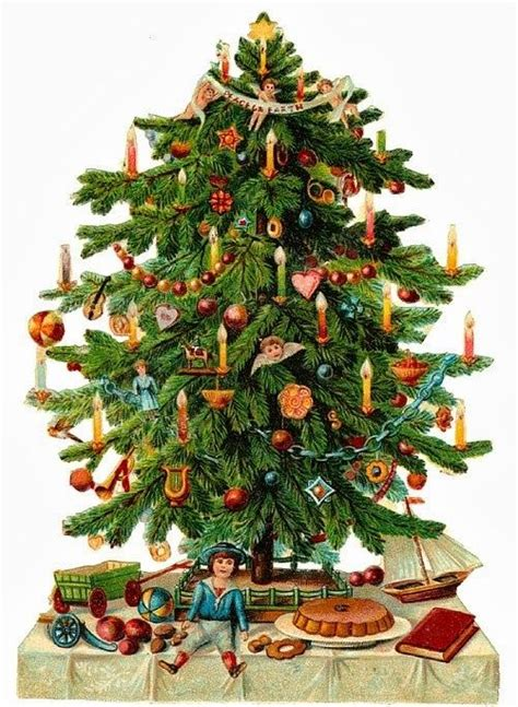 images of victorian christmas trees victorian scrap christmas tree no 235 l pinterest
