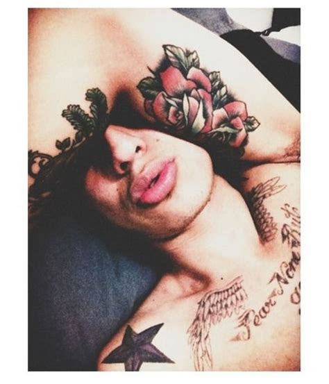 tattoo hot kiss tattoo sexy man kiss lips