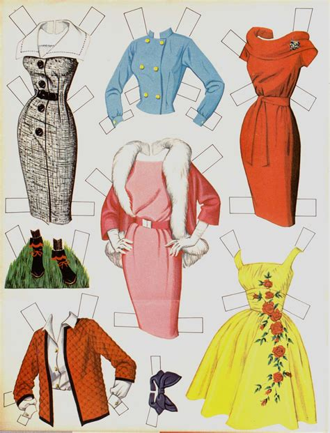 How To Make Paper Doll Clothes - paper dolls on paper dolls calendar and