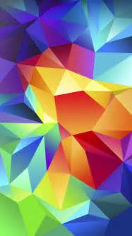 colorful iphone wallpaper colorful polygons wallpaper free iphone wallpapers