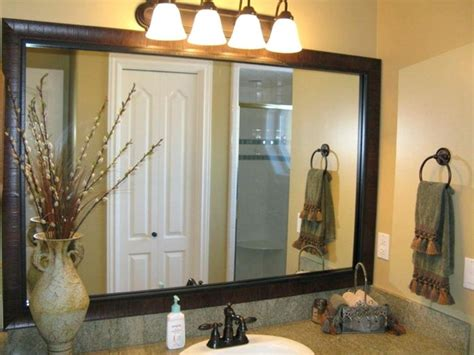 bathroom mirror frames kits mirror frame kits for bathroom mirrors home design