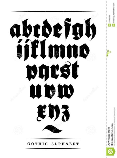 tattoo huruf gothic the 25 best gothic fonts ideas on pinterest writing