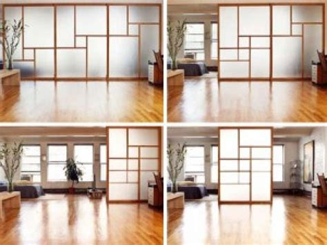 Paper Blinds Temporary Interior Glass Walls Residential Ikea Studio Apartment