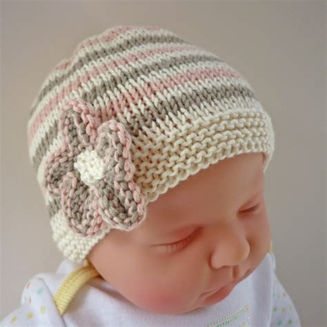 easy to knit baby hat baby hat knitting pattern pdf emilie folksy