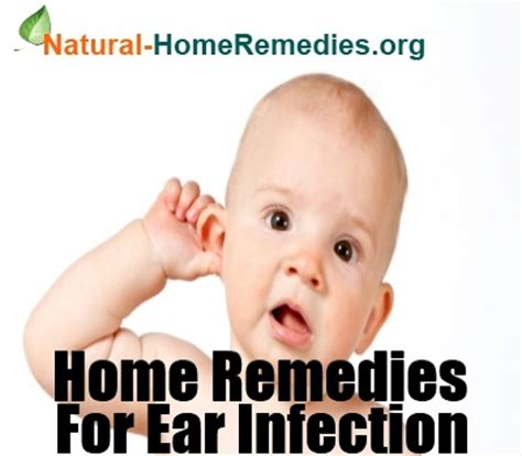ear infection home remedies ear infection treatment