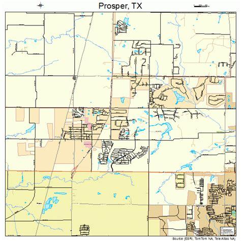 prosper texas map prosper texas map 4859696
