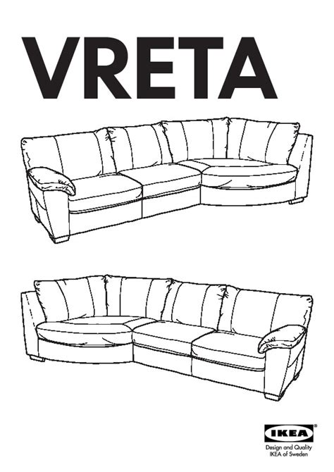 vreta corner sofa vreta sofa mjuk dark brown home everydayentropy com
