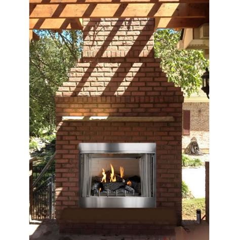 Outdoor Ventless Fireplace by Outdoor Fireplaces And Accessories Fine S Gas