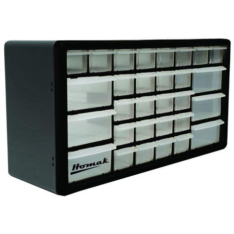 small drawer organizer black homak 30 compartment non stackable organizer black