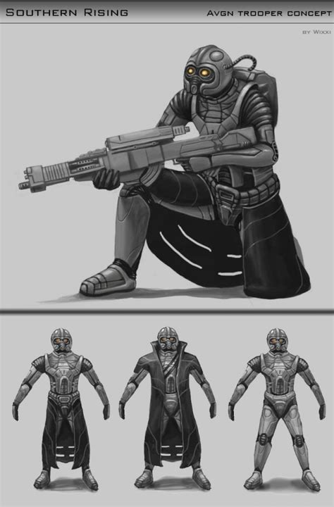 Forth AVGN Trooper Concept image - Red Alert 3: Southern