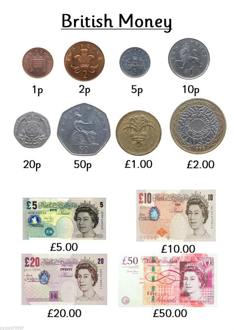 printable english money worksheets i will be designing more so call back all colour