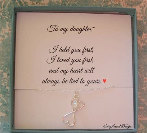 gifts  daughter necklace  mom  daughter