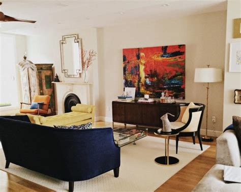 eclectic and casual design in indianapolis www design stylish casual living area with eclectic furnishings